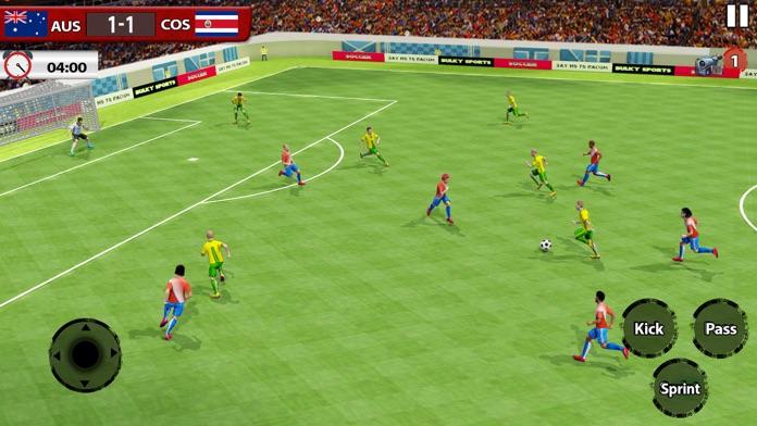 Play Soccer 2018 - Real Match Screenshot
