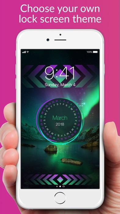 Lock Screens - Free Wallpapers & Background Themes Screenshot 1