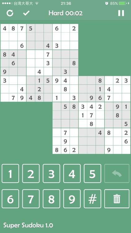Super Sudoku - Brainstorming!! screenshot-3