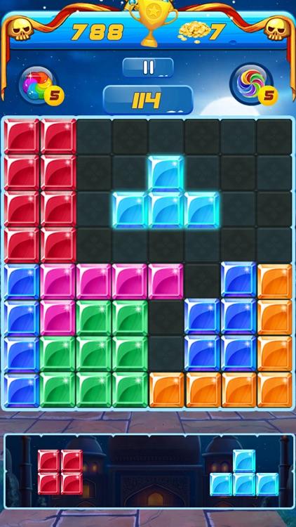 Addictive Jewel Block Puzzle