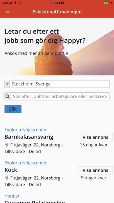 Image of EskilstunaUtmaningen for iPhone