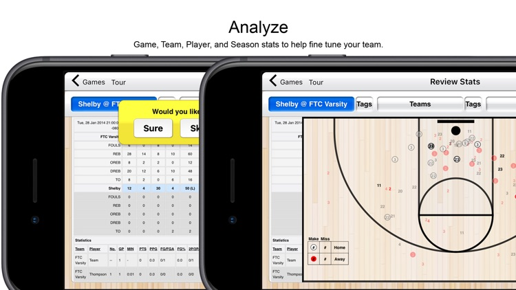 Basketball Stat Tracker screenshot-1