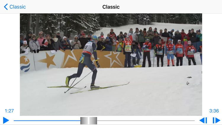 Cross-country skiing technique screenshot-4