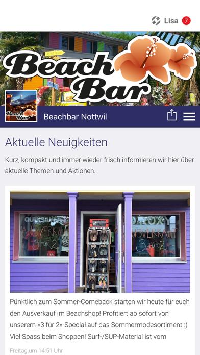 点击获取Beachbar Nottwil