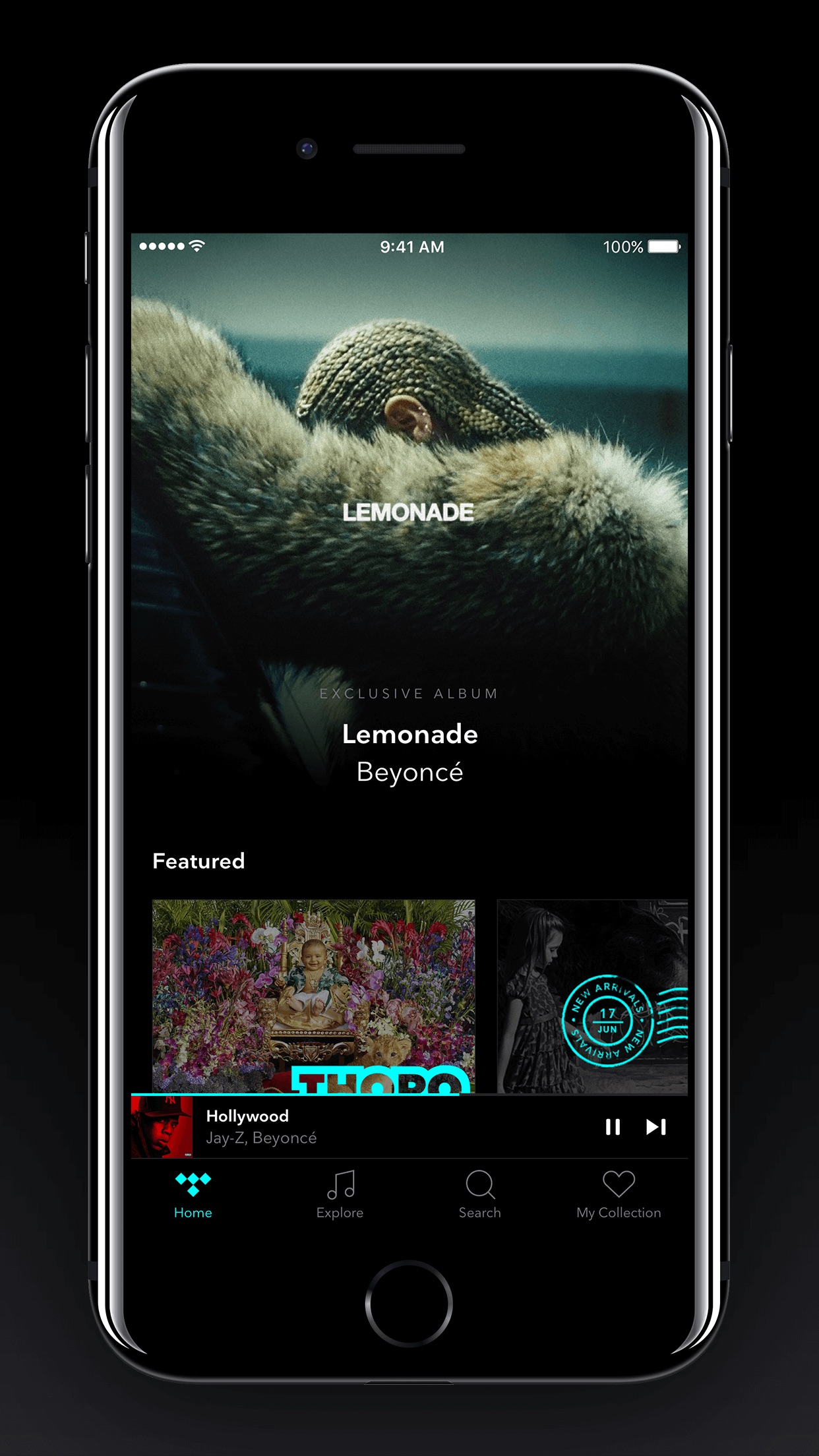 TIDAL Screenshot
