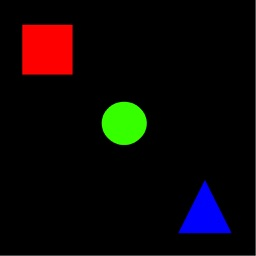 Shape Clicker - Shapes that switch size and color