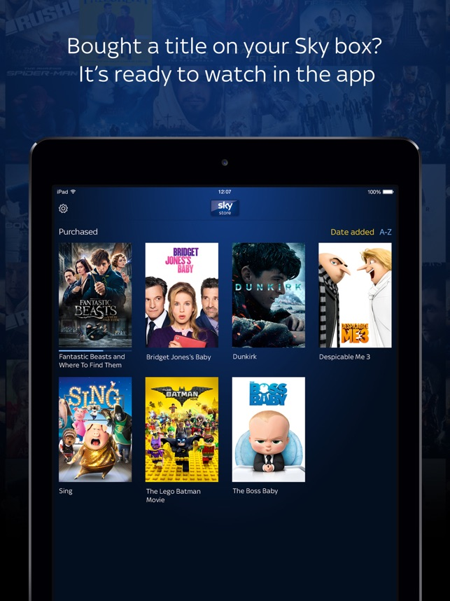 Sky Store Player: Movies & TV on the App Store