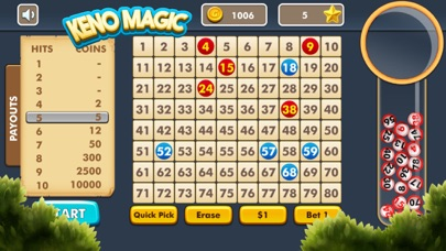 Keno Magic screenshot four