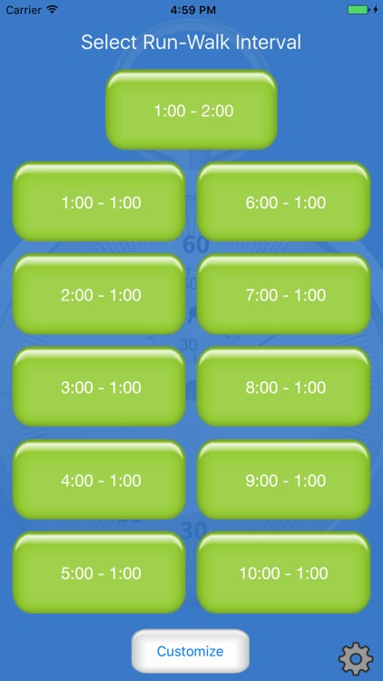 Running Interval Timer Pro screenshot-0