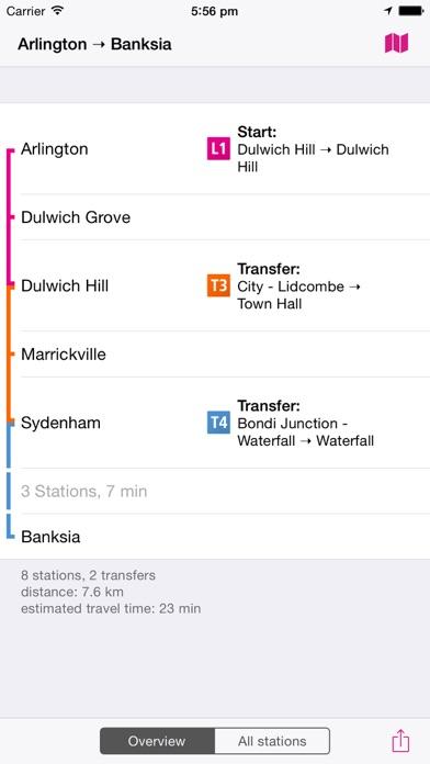 シドニー路線図 Liteのおすすめ画像4
