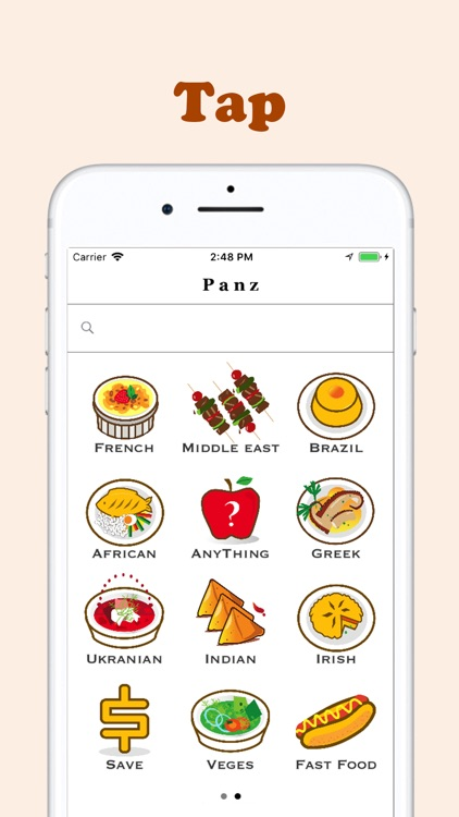 Panz - Find restaurants nearby