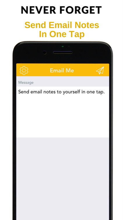 Email Me - Notes in one tap! screenshot-0