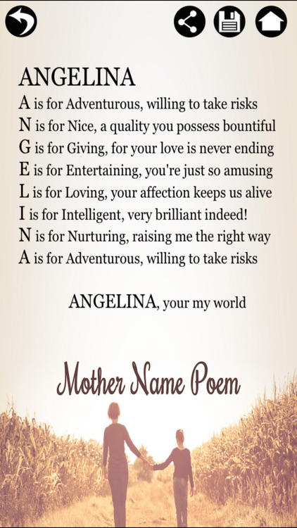 Name Poem Maker Name Meaning By Touchzing Media