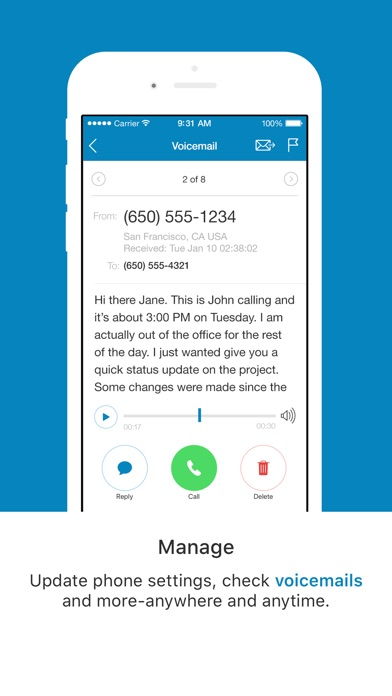 Ringcentral phone by ringcentral inc ios united states screenshots m4hsunfo