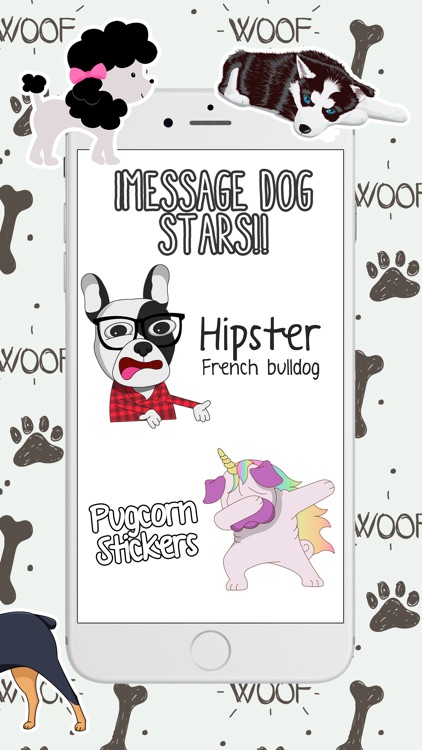 Dogs and Puppies Stickers pack screenshot-3