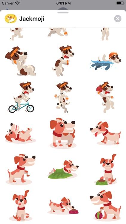 JackMoji - Pet Emoji & Sticker