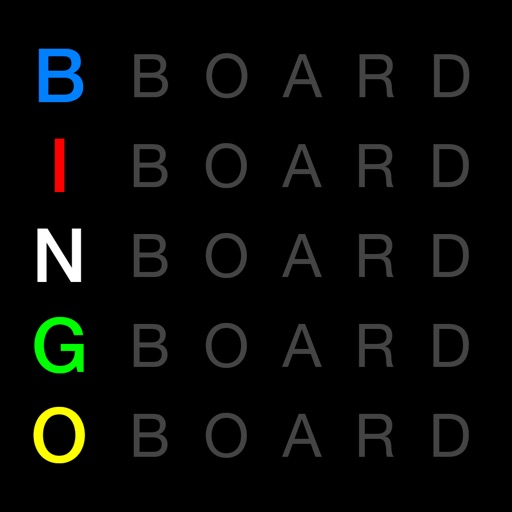 Bingo Board Display