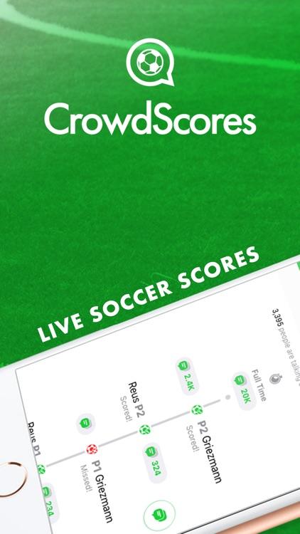 CrowdScores - Live Scores screenshot-0