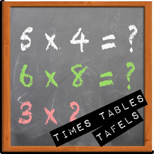 Times Tables Trainer Math icon