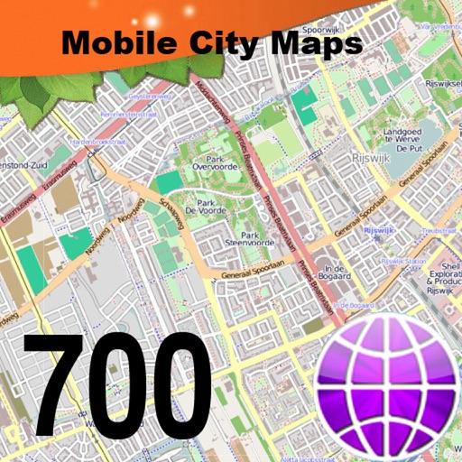 Baixar 700 City Maps para iOS