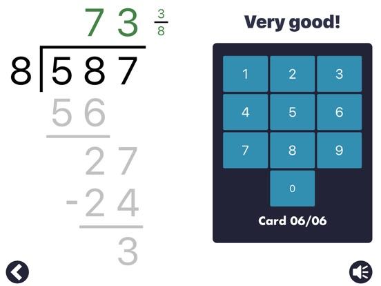 MathEdge Division Screenshots
