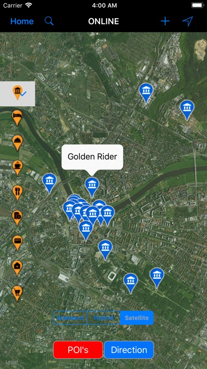 Dresden (Germany) – Travel Map
