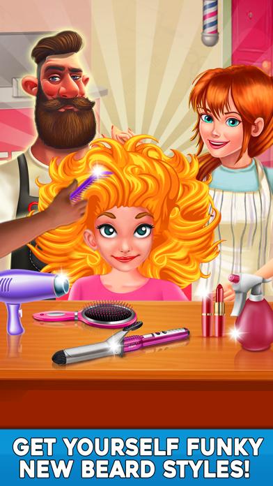 Virtual Stylist Hair Cut Game-3
