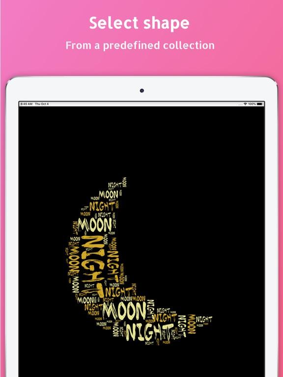 WordPack: Word Cloud Generator Screenshots