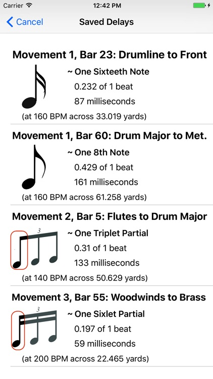 Marching Band Sound Delay screenshot-4