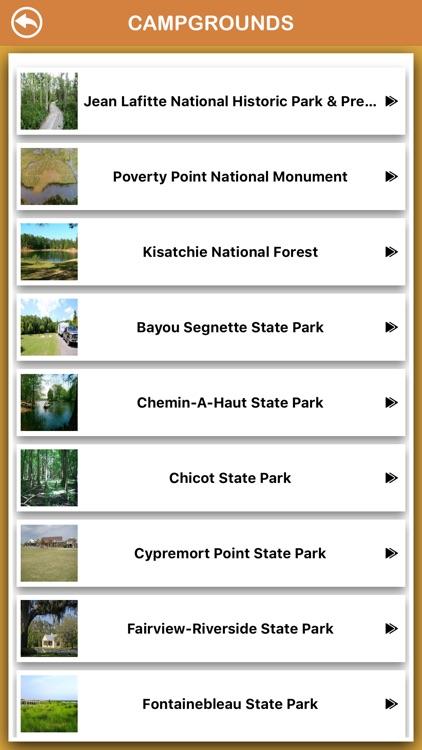 Louisiana National Parks