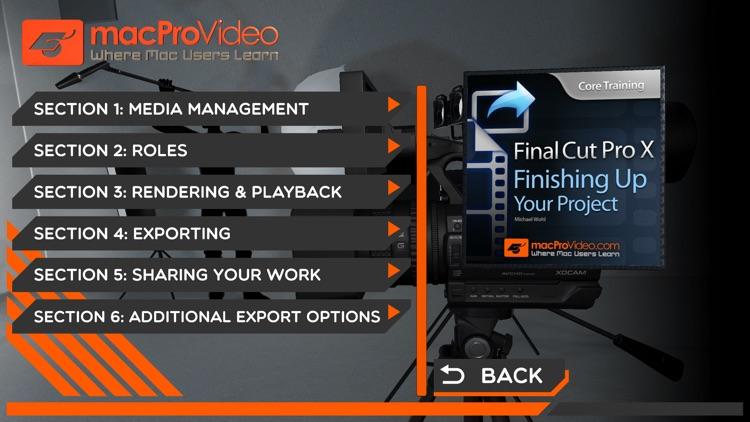 Course For Final Cut Pro X 108