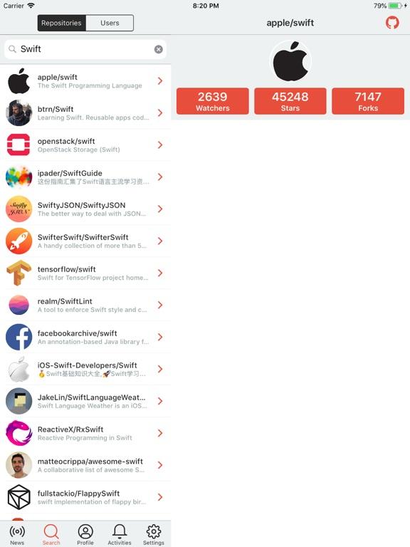 SwiftHub-Gitクライアント | Apps | 148Apps