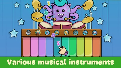 Screenshot for Baby piano for kids & toddlers in United States App Store