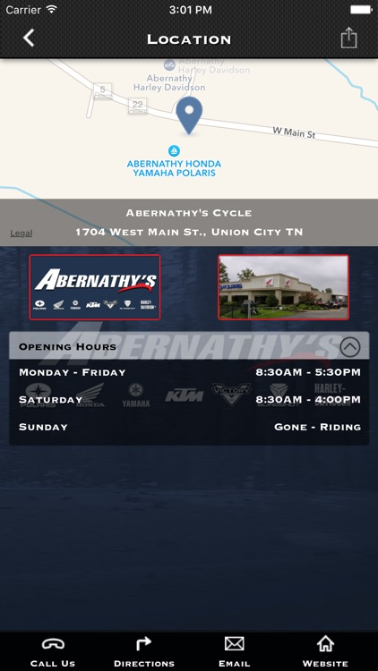 abernathy s cycle by imobile solutions inc appadvice