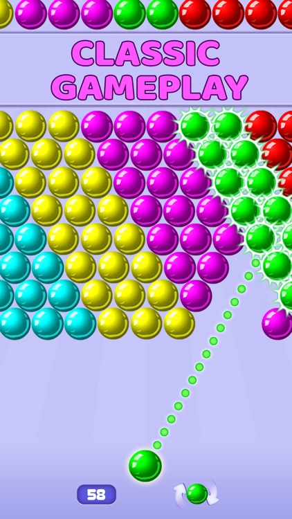 Bubble Shooter - Pop Bubbles screenshot-0