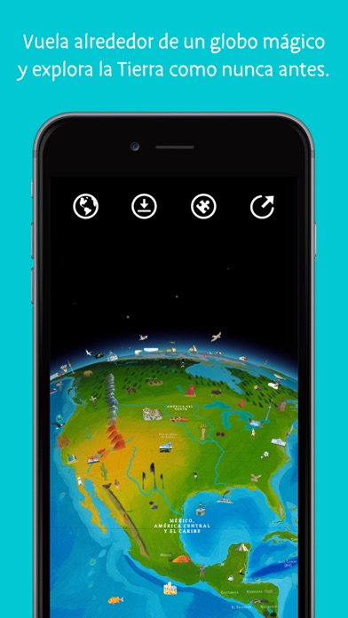 Screenshot for Barefoot Atlas del Mundo in Argentina App Store