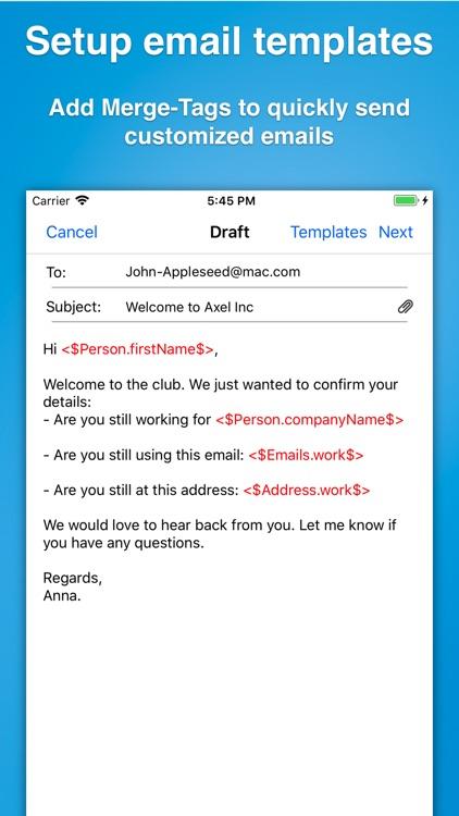Contacts Journal CRM screenshot-7