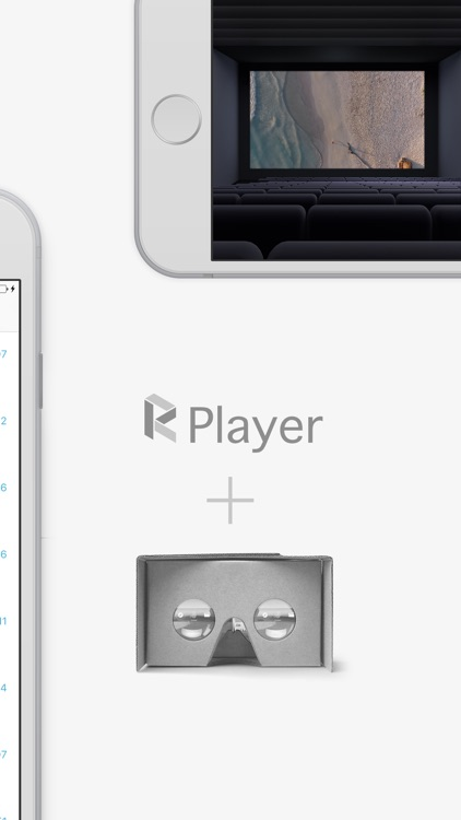 rPlayer: 3D & VR Video Player