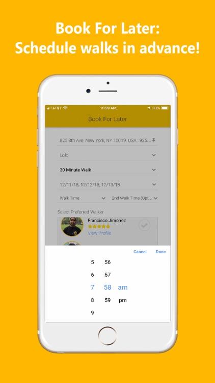 UDog On Demand Dog Walking App screenshot-6