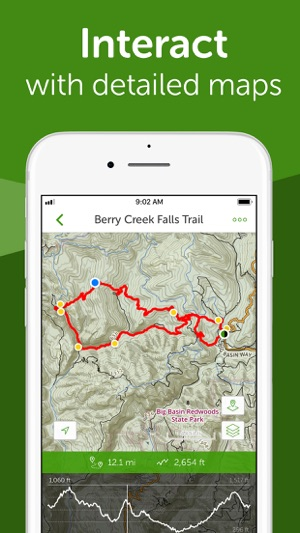 AllTrails Hike Run Cycle On The App Store - Trail map apps