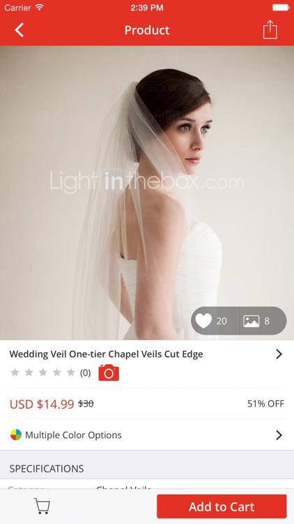 Lightinthebox-Online Shopping screenshot-3
