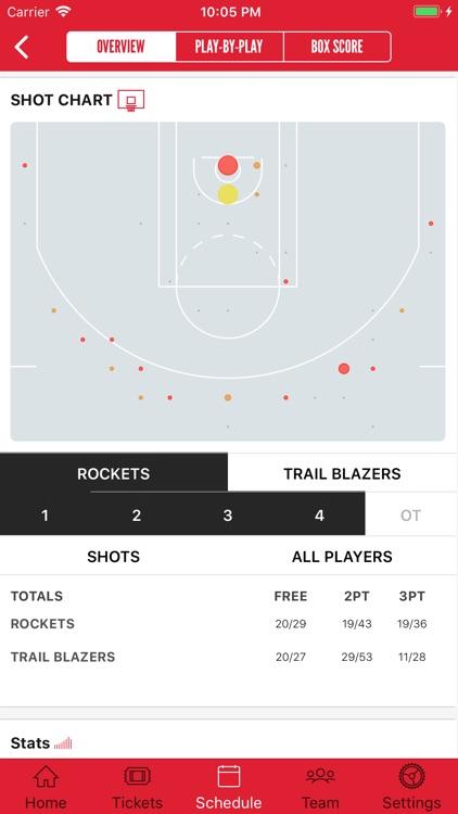 Houston Rockets screenshot-3