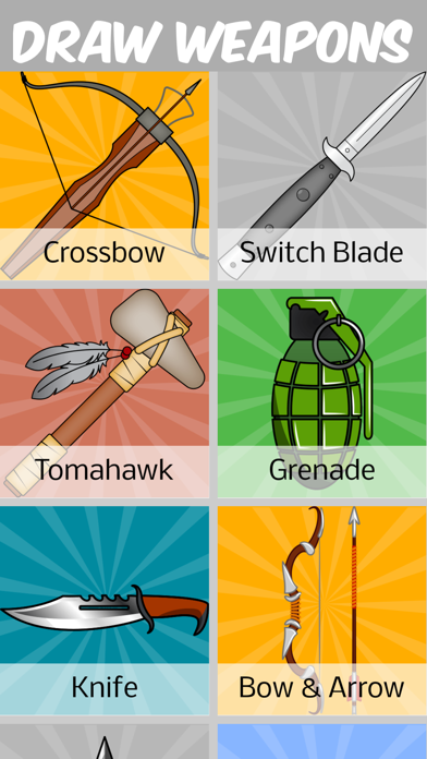 Download How to Draw Weapons for Android