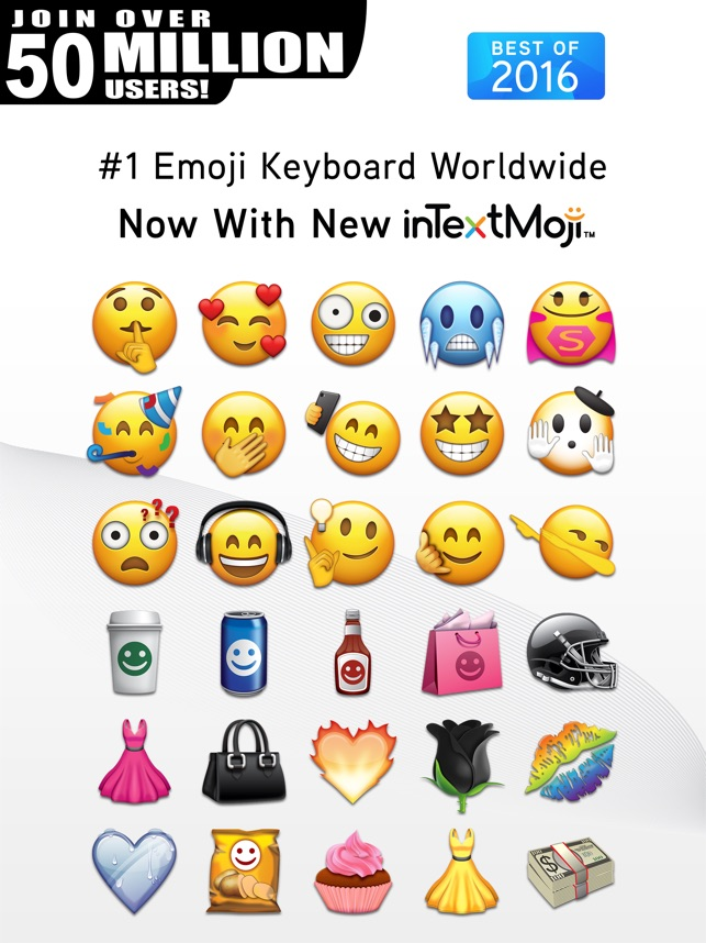 emoji on the app store