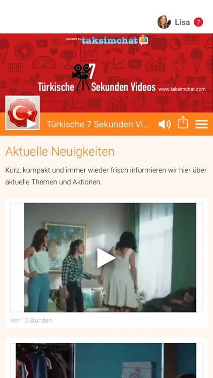 Türkische 7 Sekunden Videos