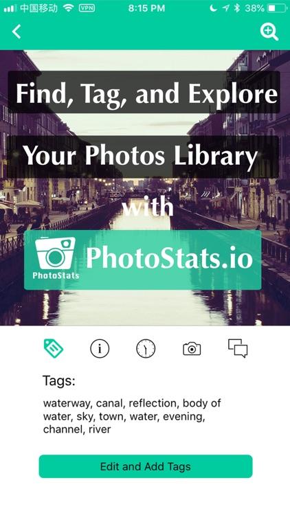 PhotoStats Auto-Tag & Tracker