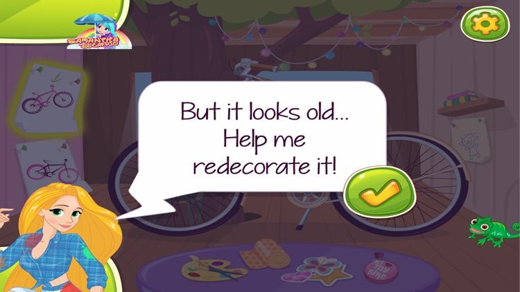 Bike Summer Outfit - Girl game screenshot-3