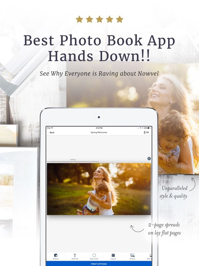 stunning photo books by nowvel on the app store