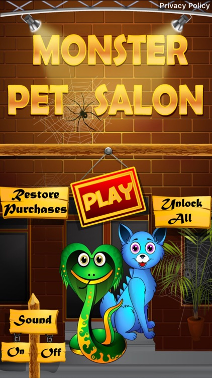 Monster Pet Salon