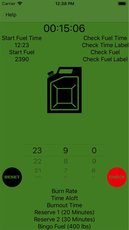 Mil Fuel Check screenshot-1